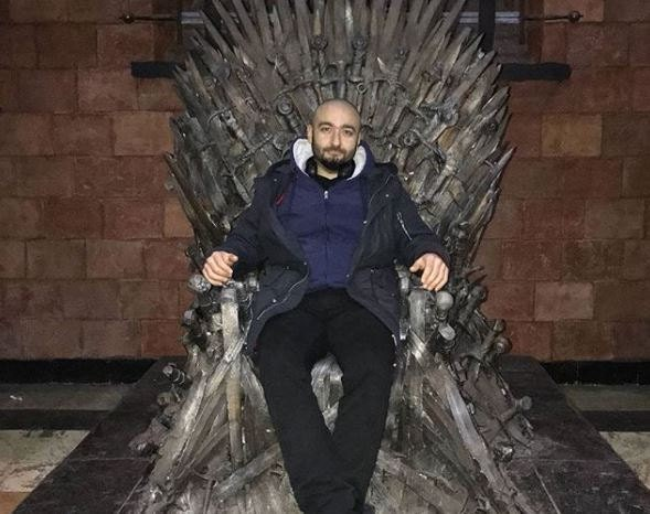 Kostas Kyrsanidis - Silverlab designer on GOT series authentic Iron Throne