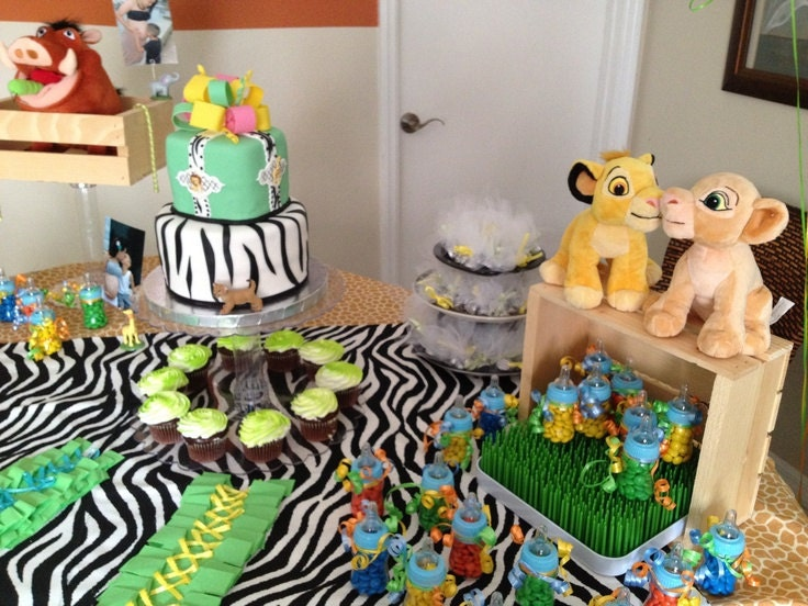 The Lion King baby shower