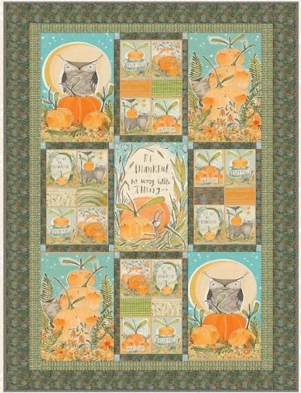 autumn quilt kit