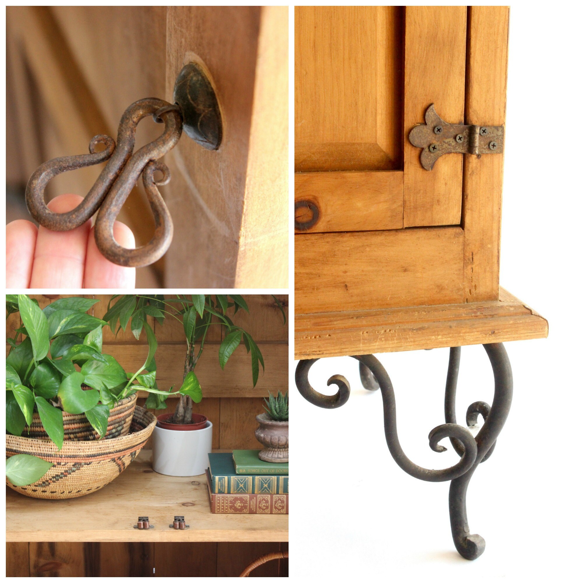 vintage storage cabinet via mendez manor