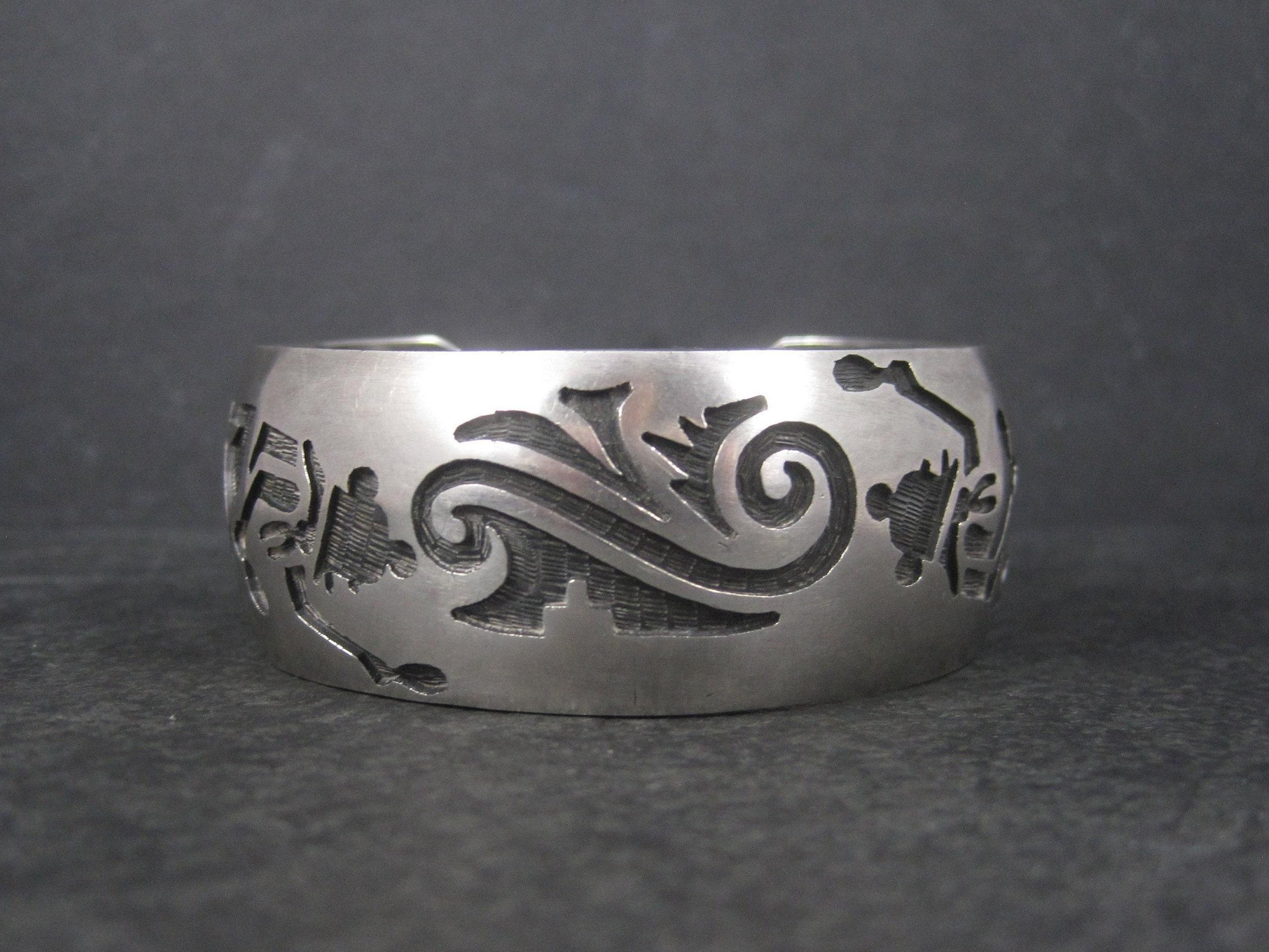 Vintage Hopi Cuff Bracelet - Bejeweled Emporium
