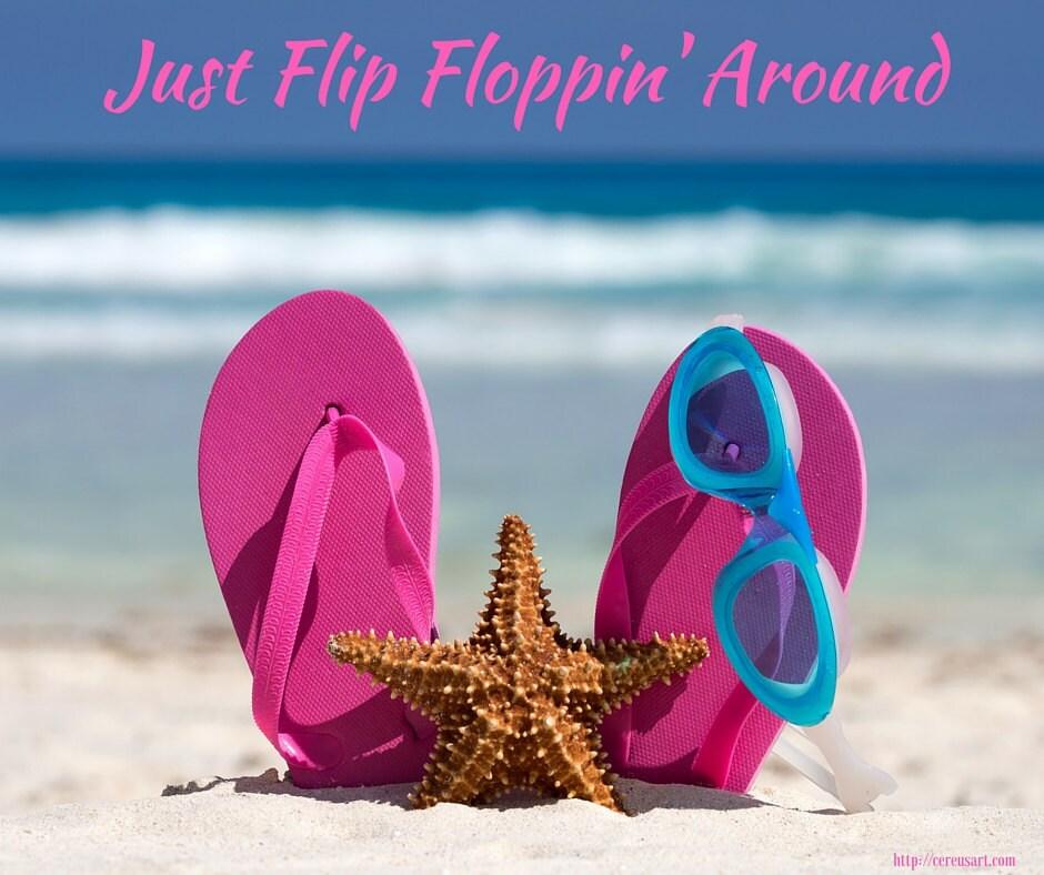 Just flip floppin around!