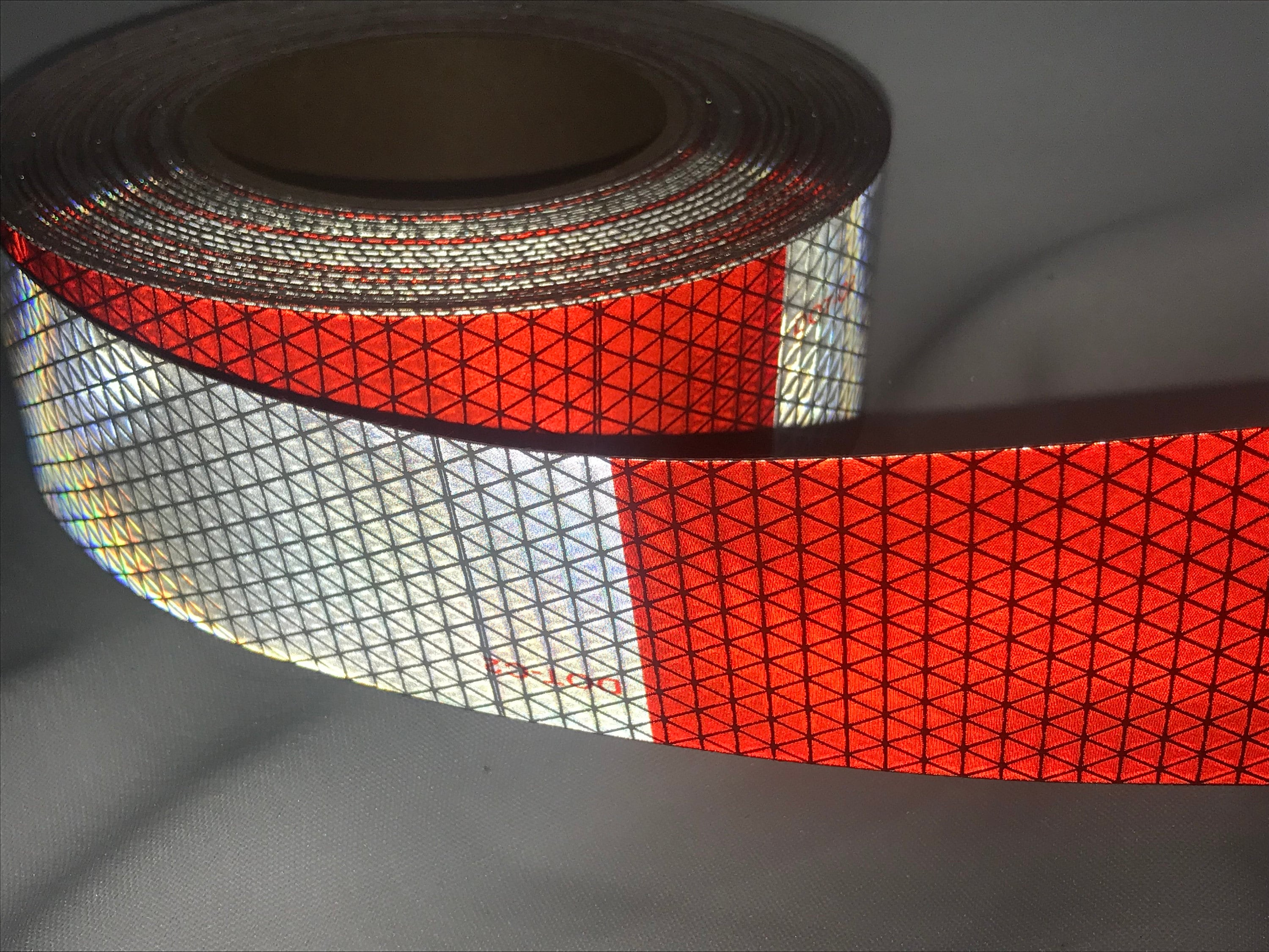 Red White DOT c2 Tape Cole Safety Products