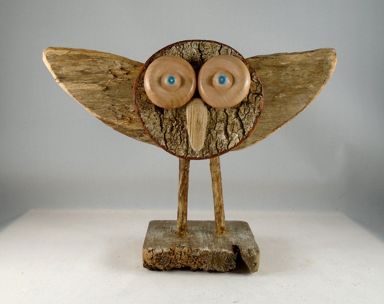 maine folk art owl
