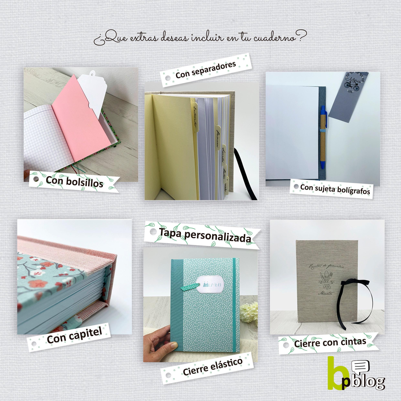 Imagen con los diferentes extras (bolsillos, separadores, capitel)