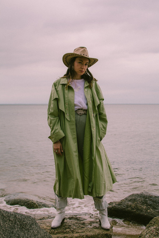 vintage maxi coat