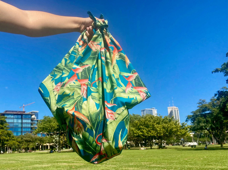 Furoshiki-wrap-bag