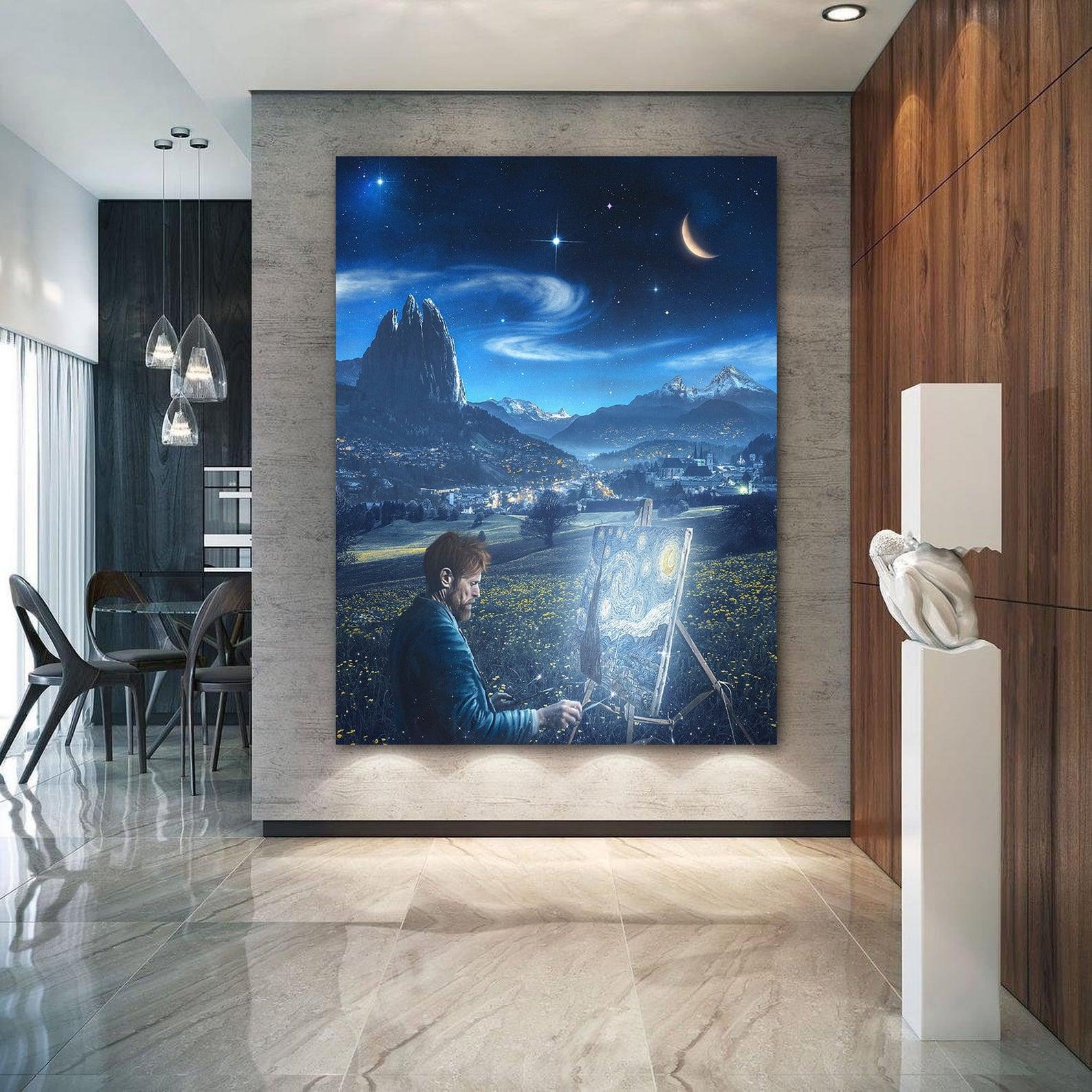 Vincent Van Gogh Starry Night Canvas Art