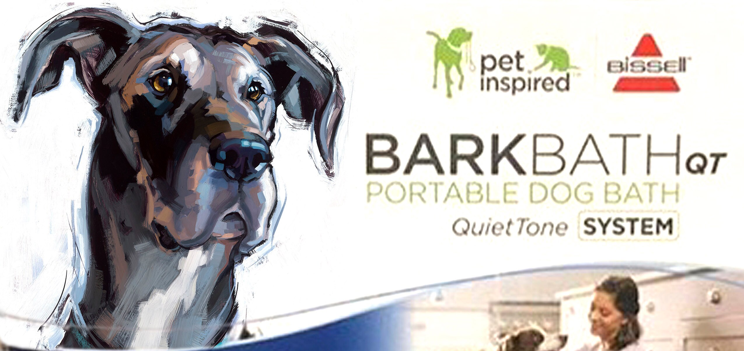 Custom Pet Portrait Painting for BISSELL