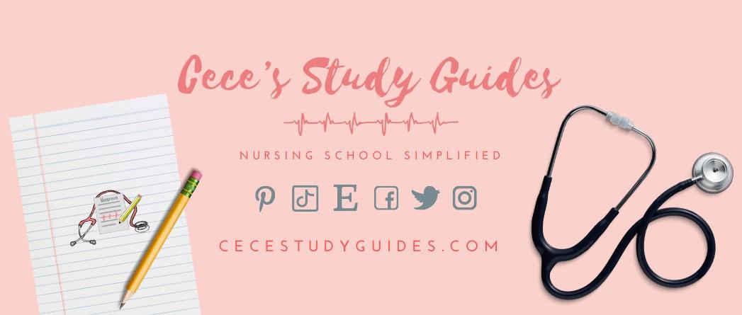 Nursing School Study Guides