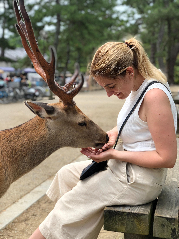 Me in Nara, Japan