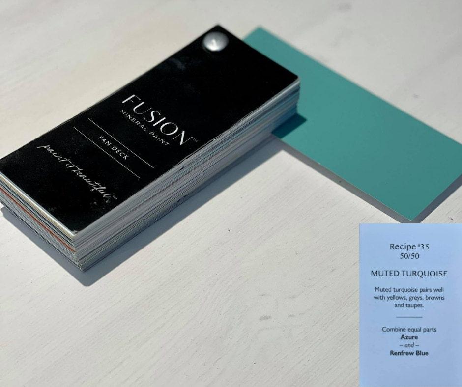 Muted Turquoise Custom Mix
