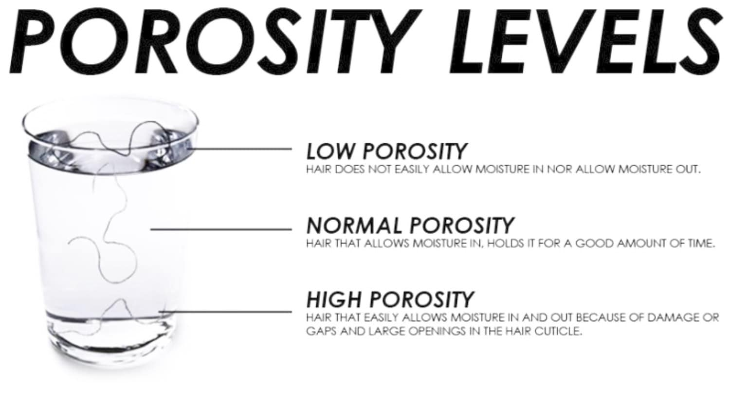 The Lowdown On High And Low Porosity Hair