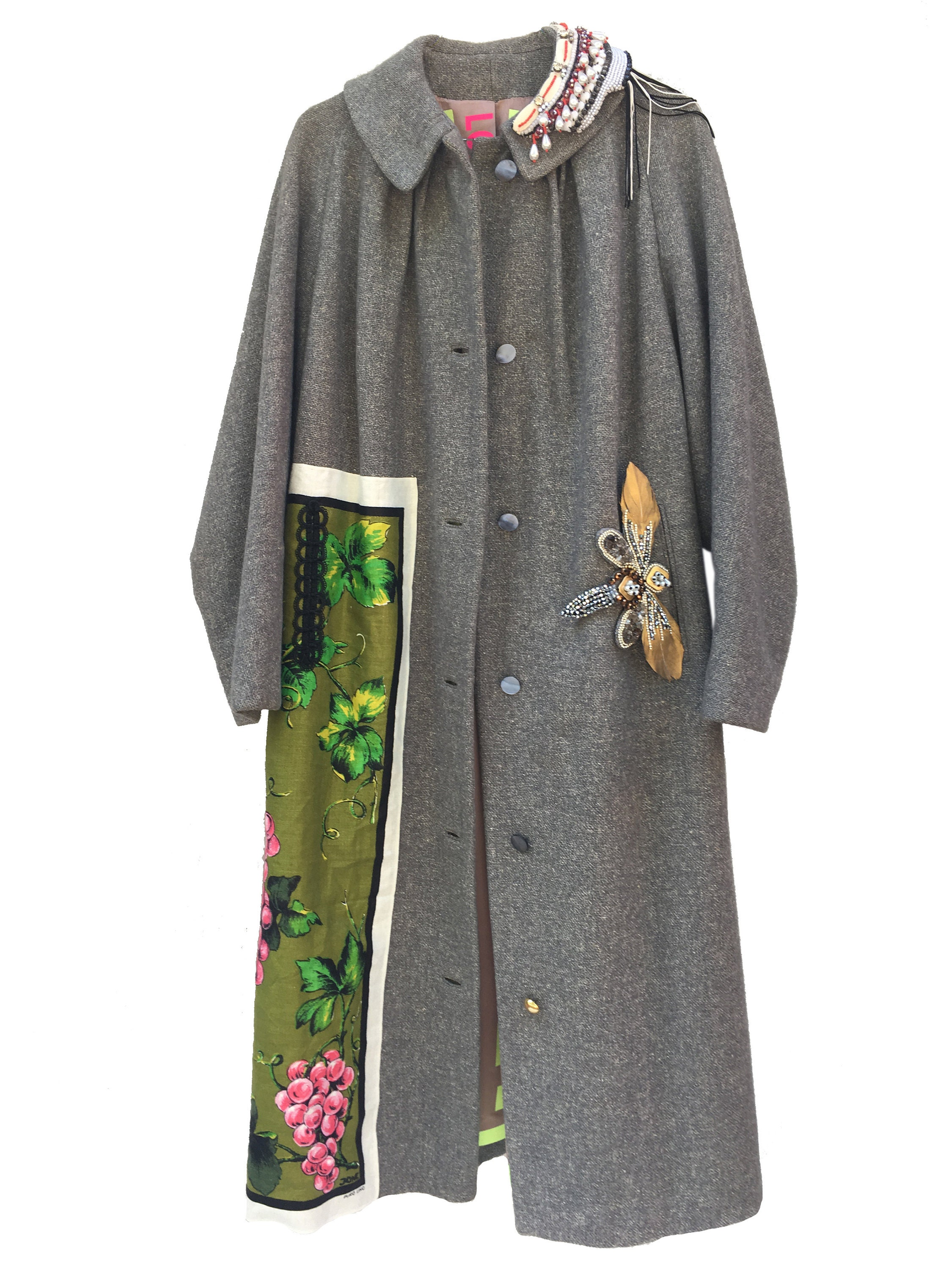 lola darling #sustainability in #luxury #coat