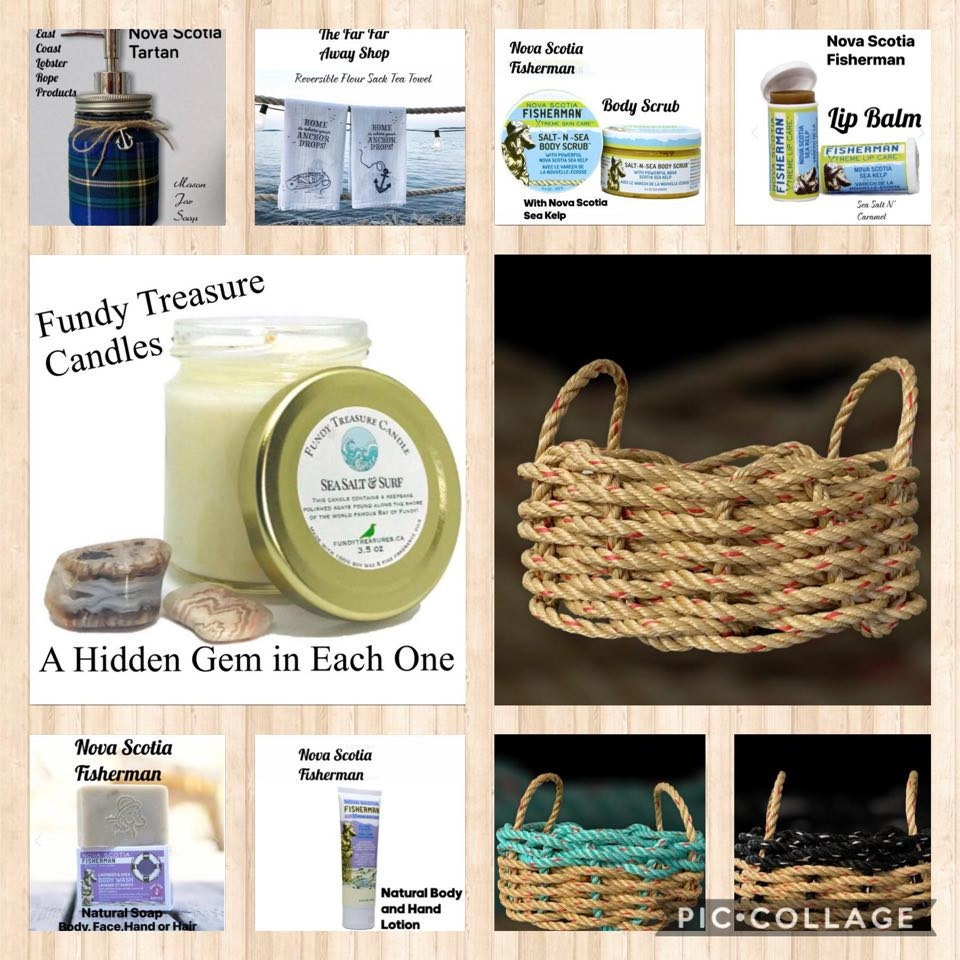 Handwoven Rope Gift Baskets