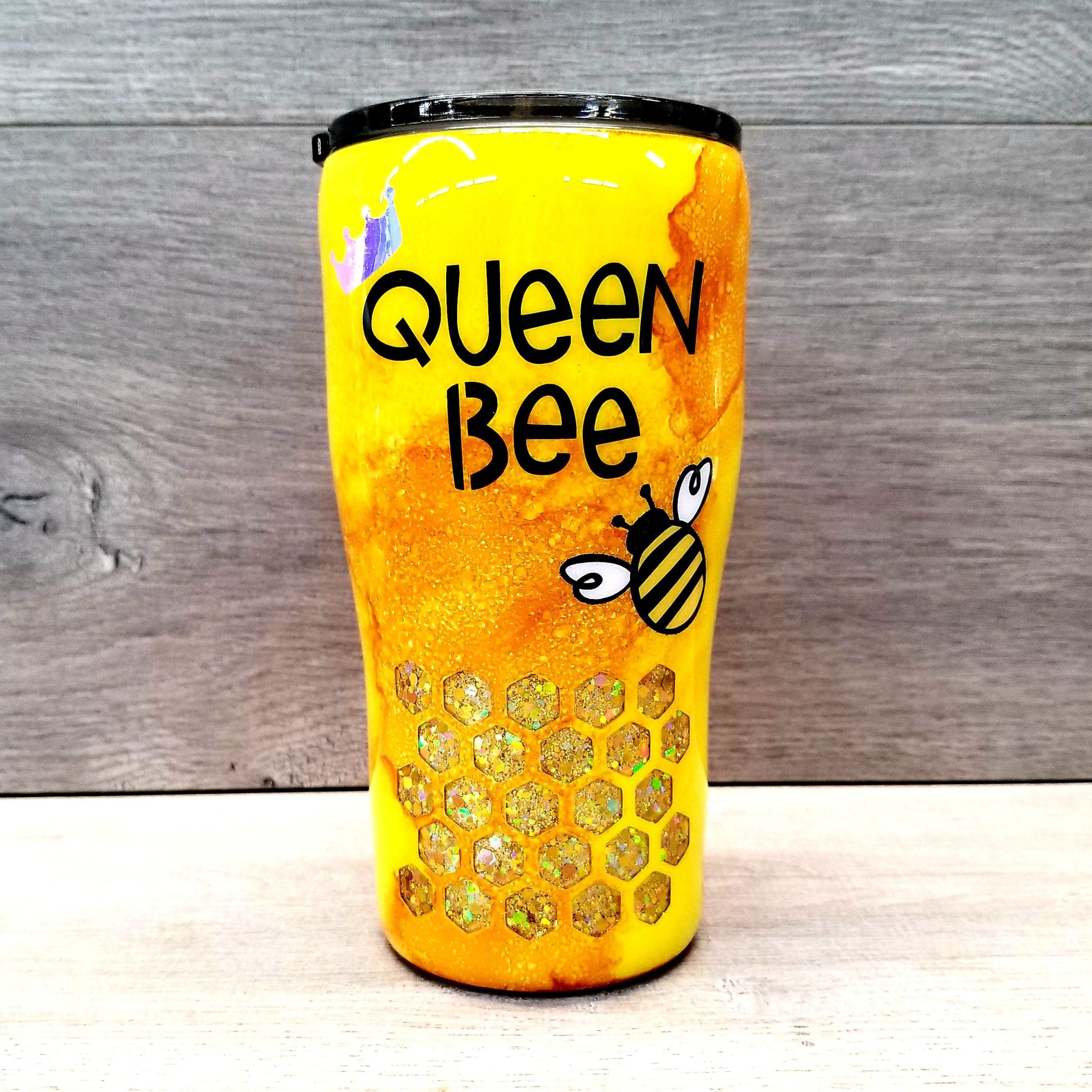 Completed Queen Bee Tumbler