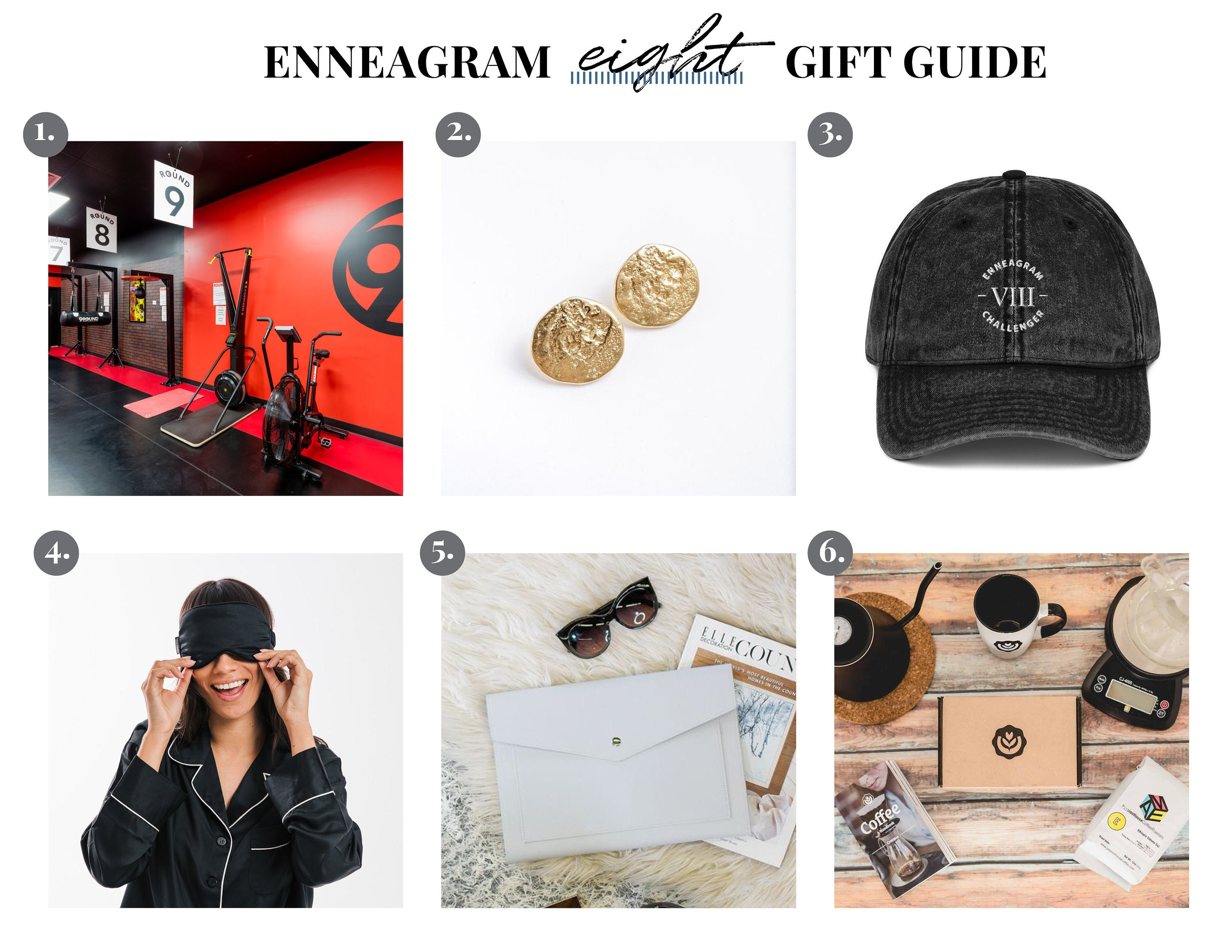Enneagram Eight Gift Guide