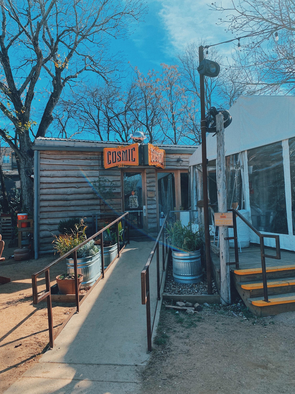 Cosmic Coffee Beer Garden Austin Texas