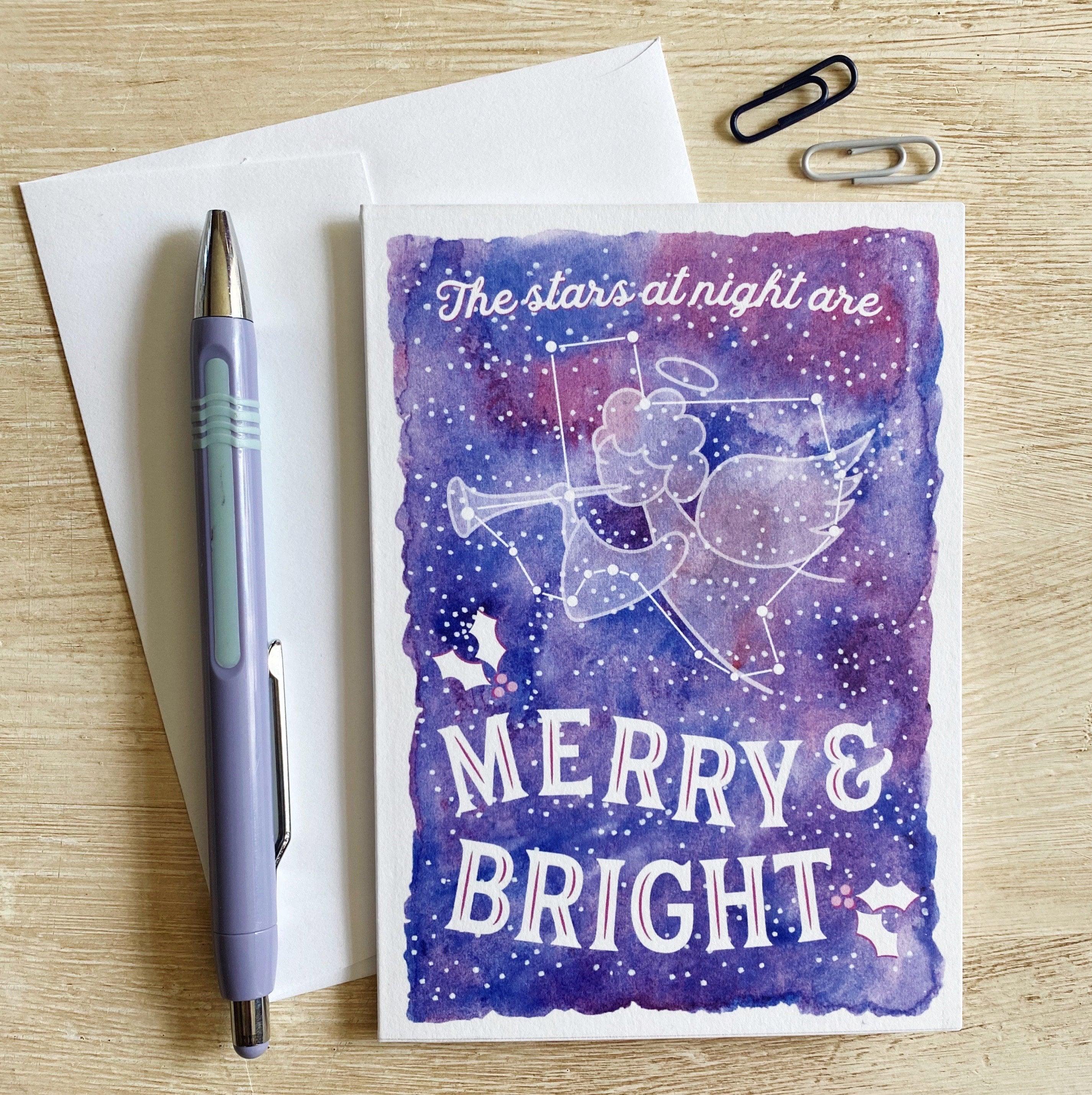 Texas Merry & Bright Christmas Card