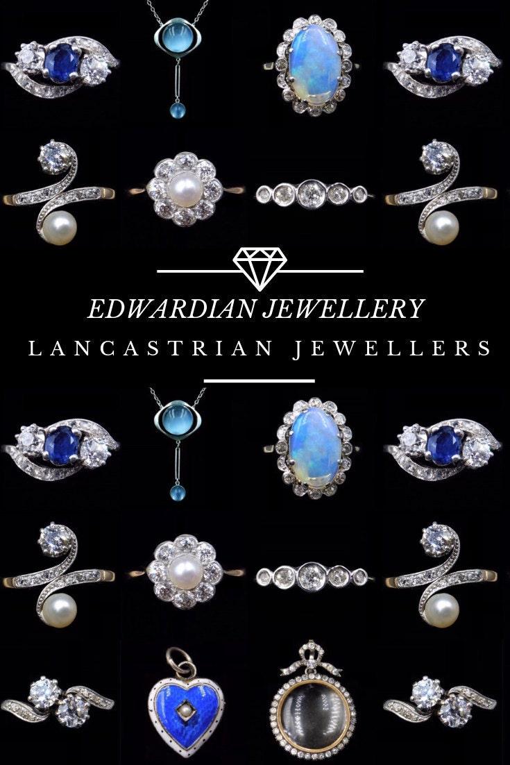 Pinterest Pin - Edwardian Jewellery