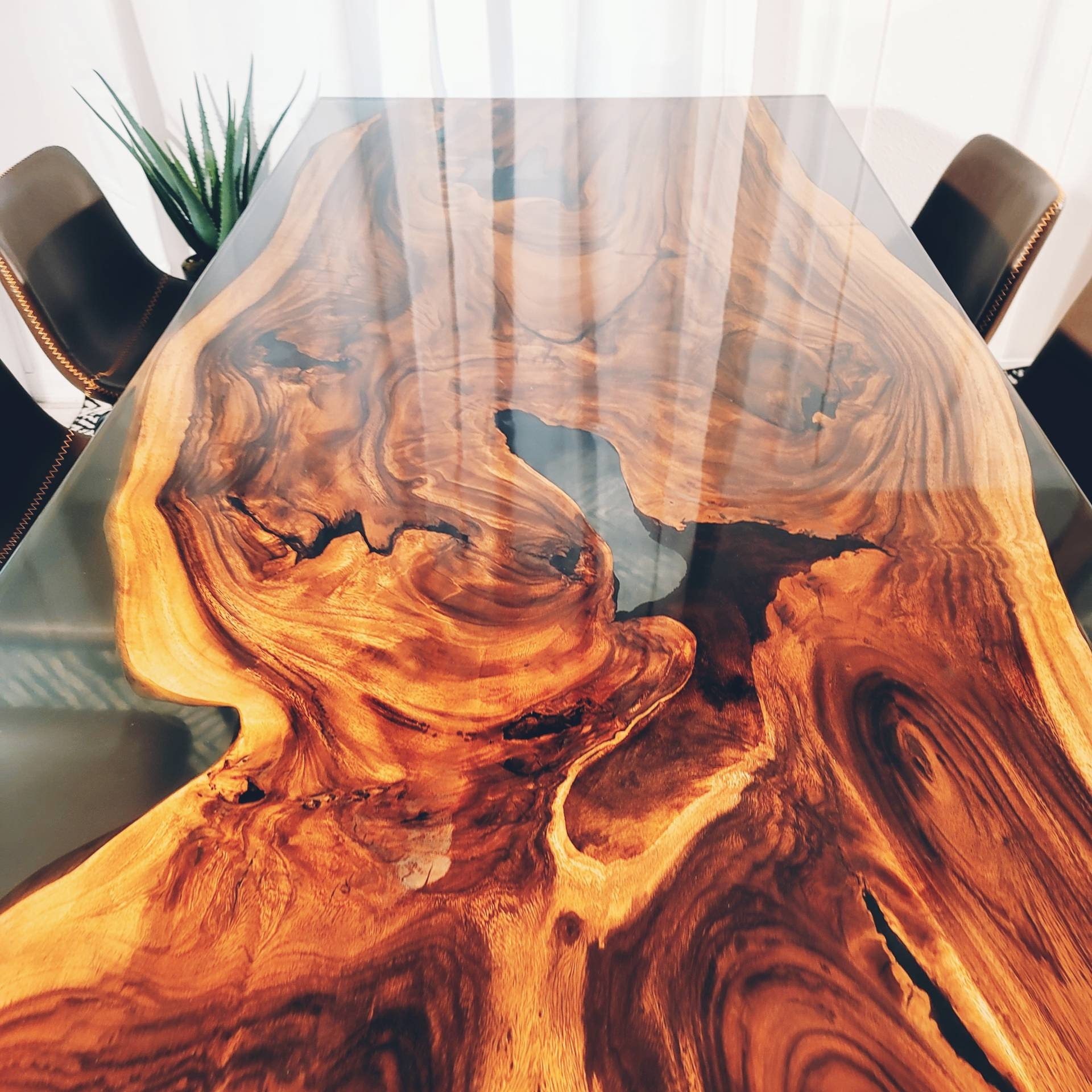 High quality epoxy river table