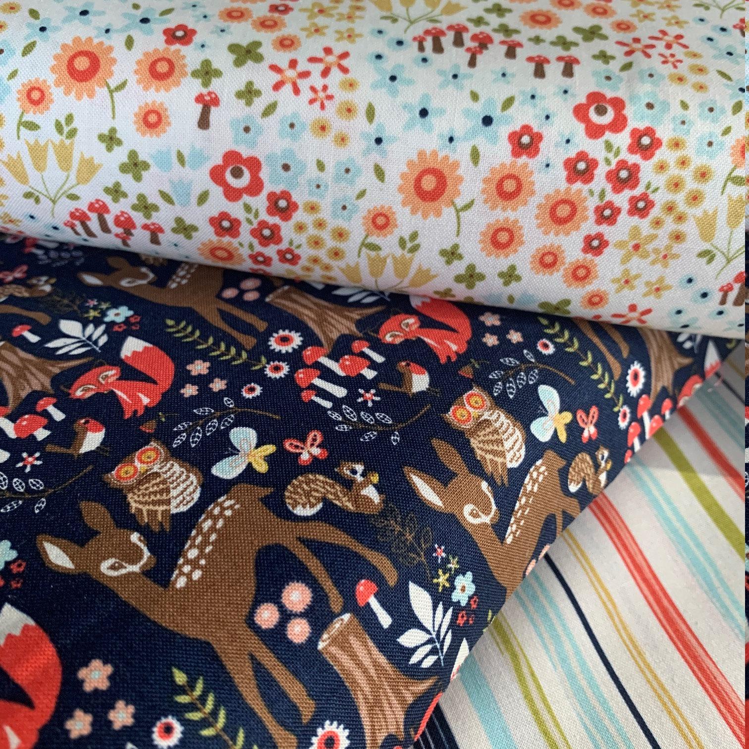 Riley Blake Woodland Spring fabric