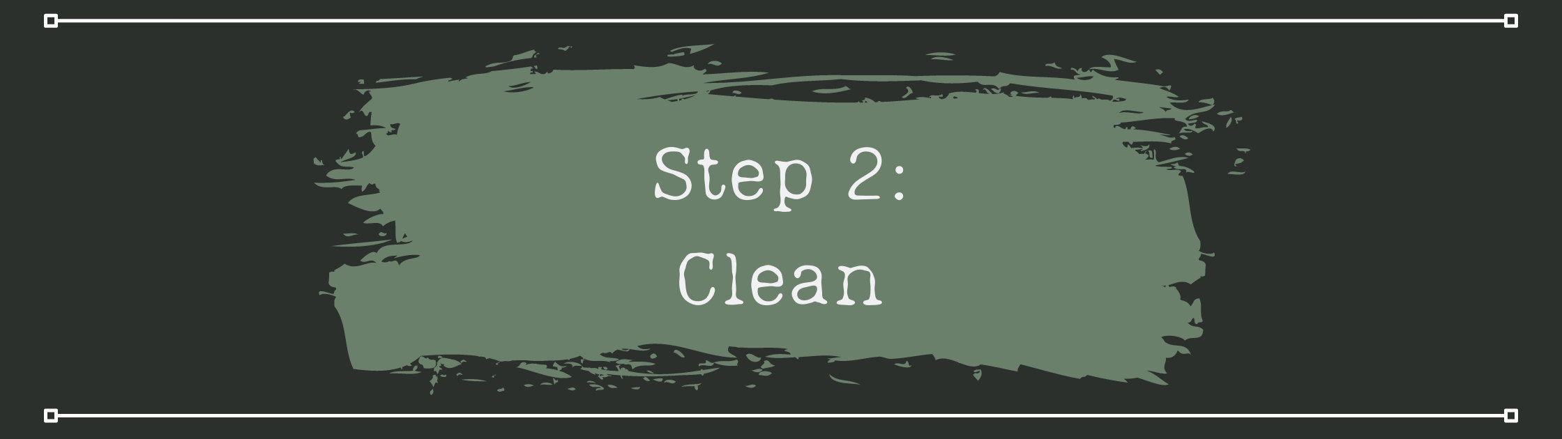 Step 2 - Clean your furniture