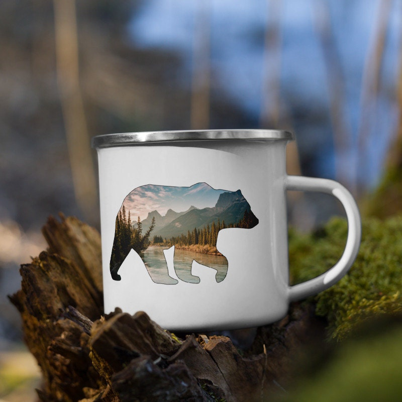 Rocky Mountain Bear Mug