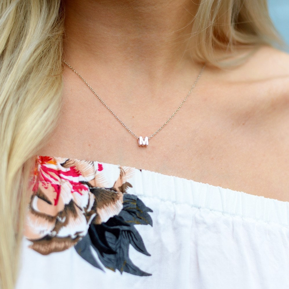 Make it personal with our Initial Necklaces