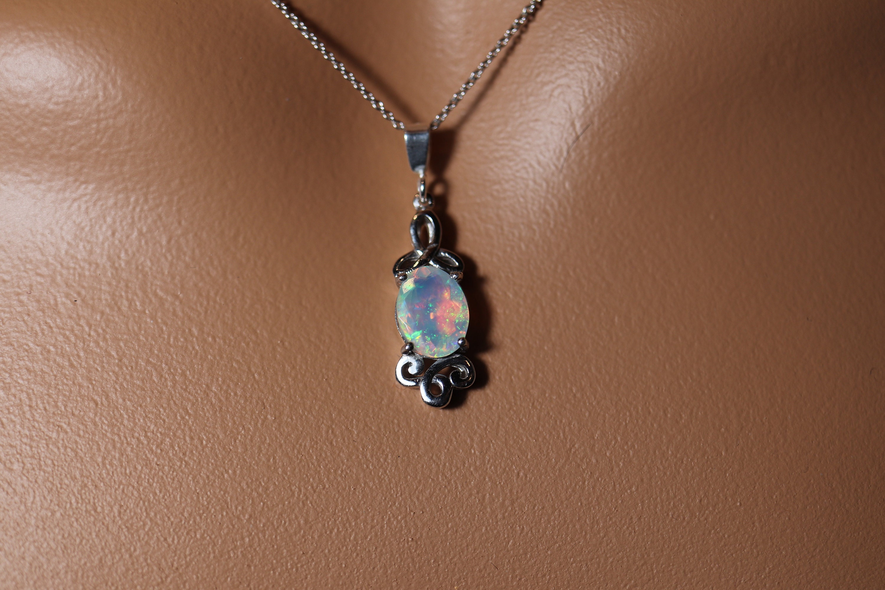 The Celtic inspired antiqued finish sterling silver pendant