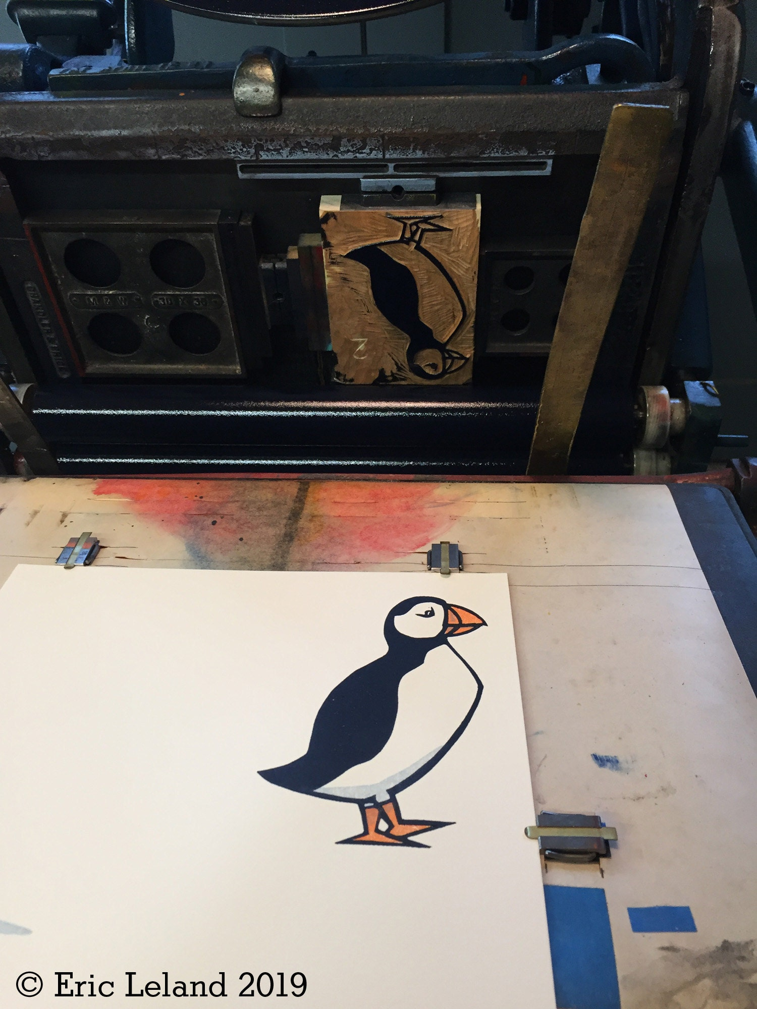 Puffin Print In Press