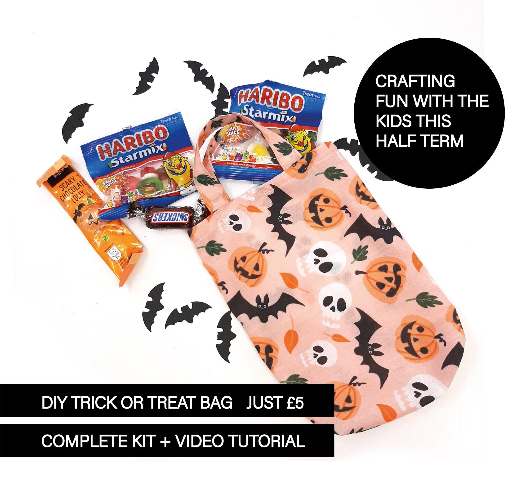 trick or treat bag tutorial - trick or treat bag pattern