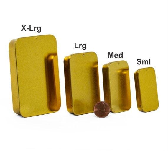 MagnaKoys® Assrtd Gold Slide Tins