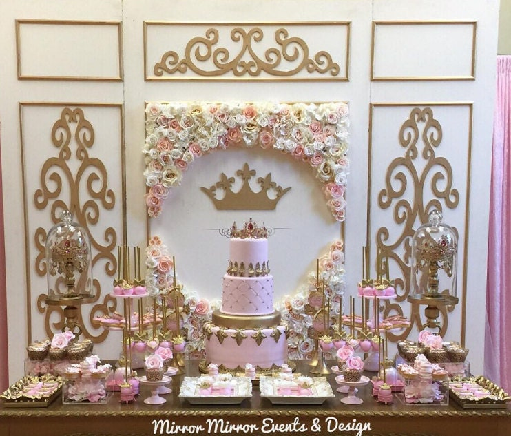 princess baby shower theme
