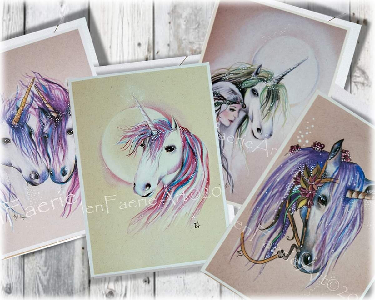Helenfaerieart Unicorn Art