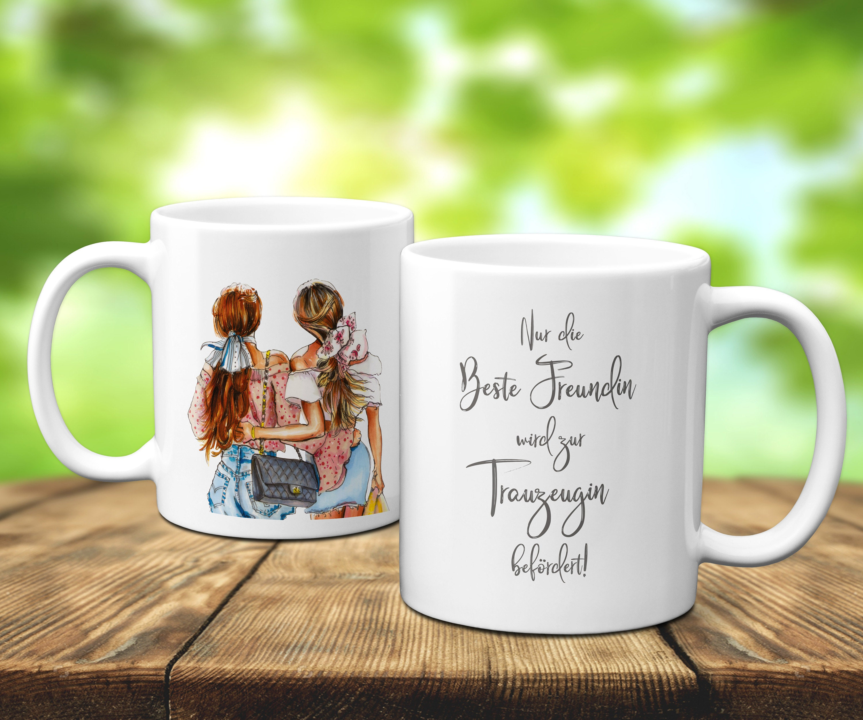Trauzeugin Tasse, Geschenk