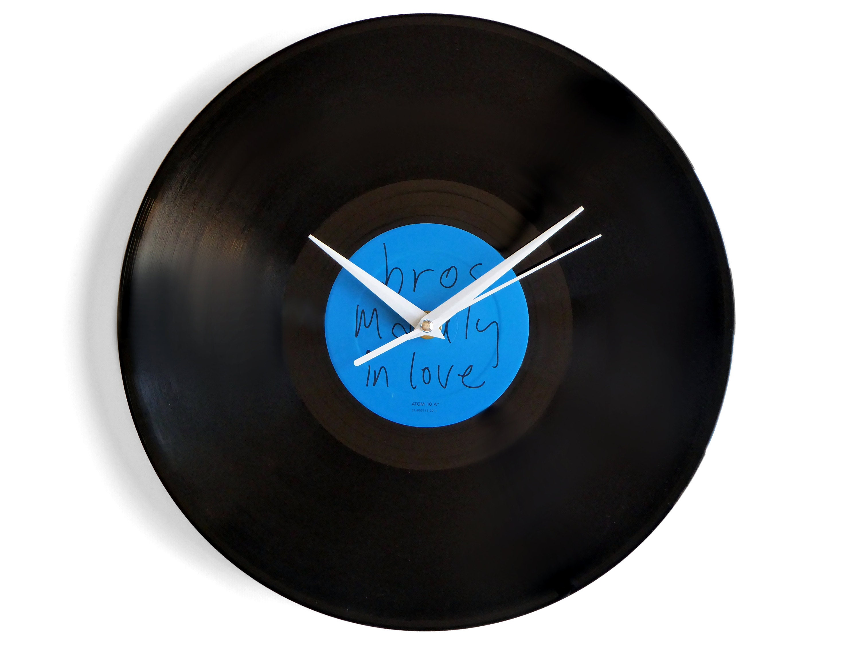 Bros Madly In Love Vinyl Record Wall Clock