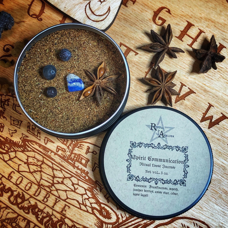 spirit communication ritual loose incense by ritual arts atelier