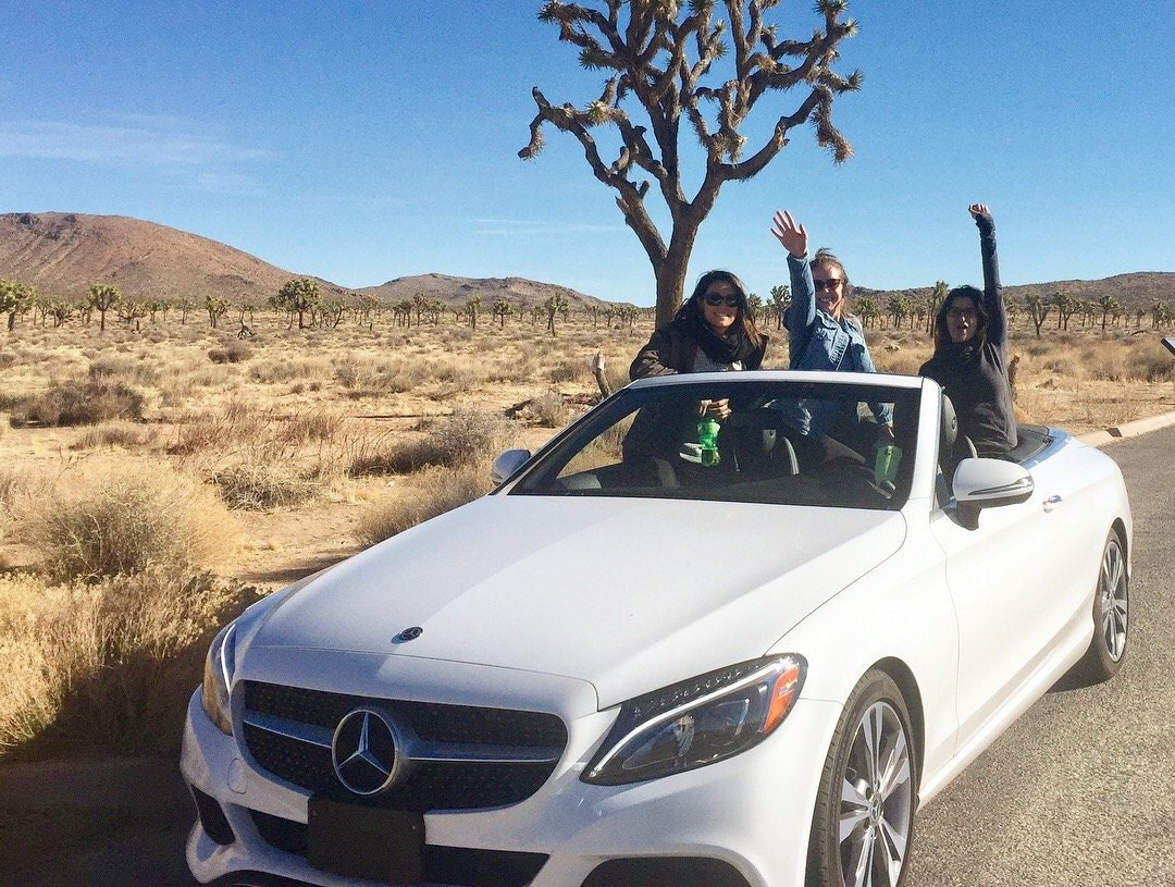 girls weekend, palm springs girls trip, palm springs bachelorette party, palm springs, Mercedes,