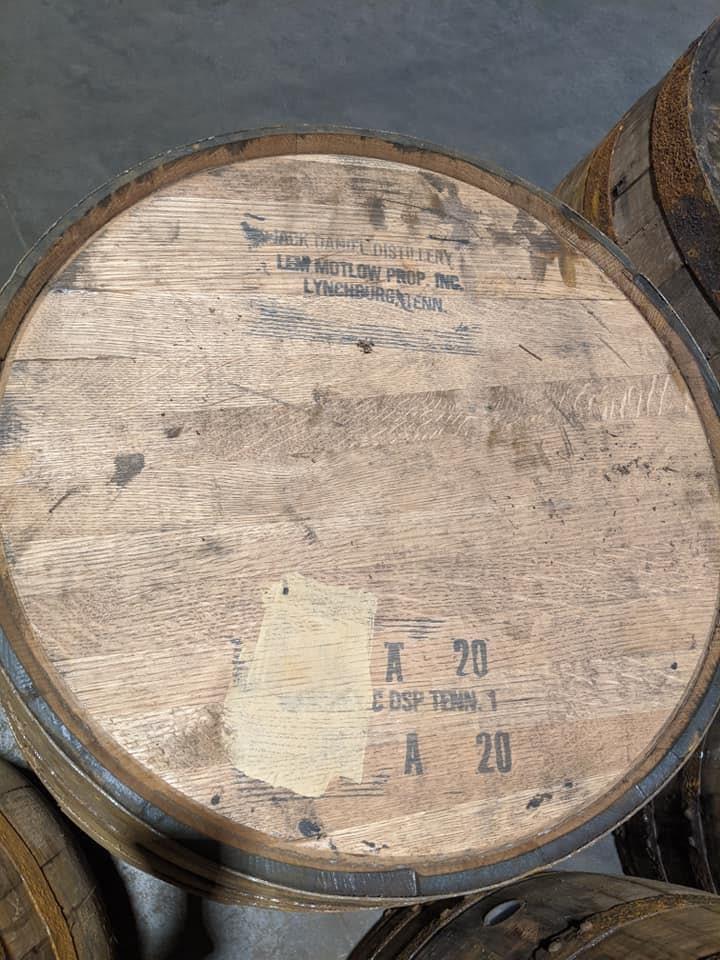 bourbon barrel pen