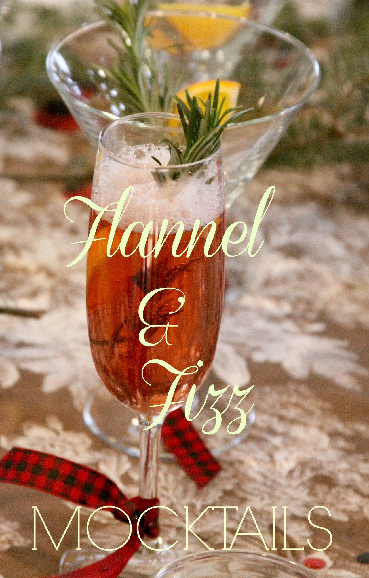 Flannel And Fizz Mocktail Perfect For A Lumberjack Baby Shower