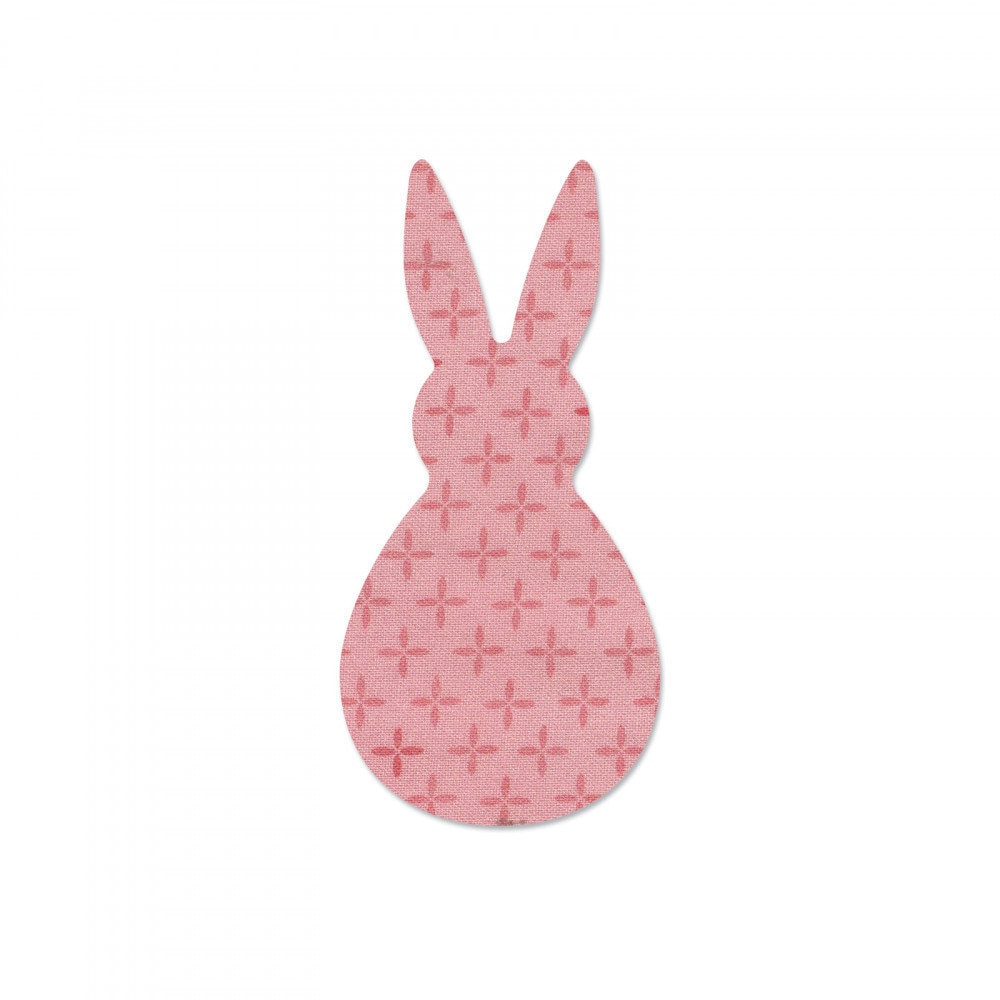 bunny die from Sizzix for making bunny shapes
