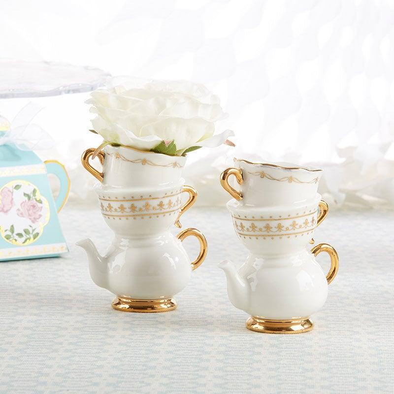 tea pot vases