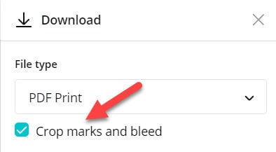 How to add crop marks and bleed