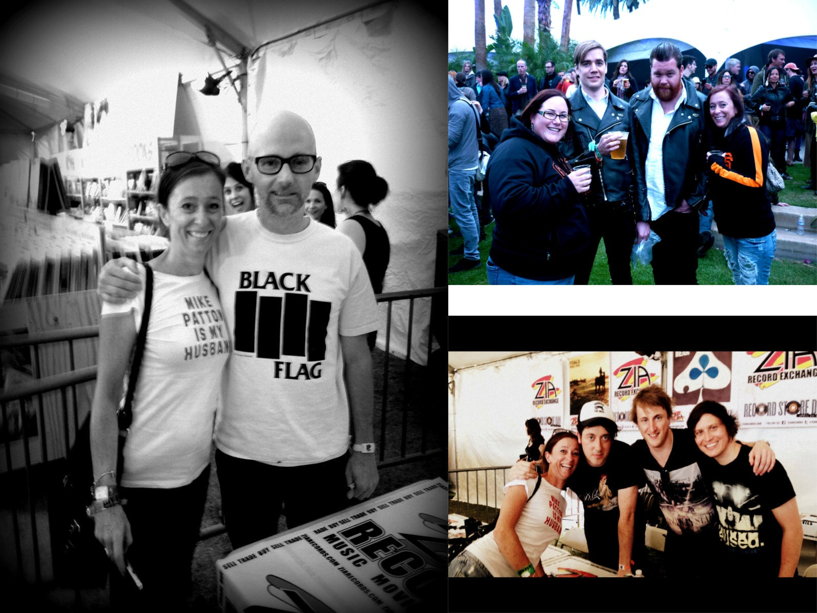 Moby, The Hives, The Wombats