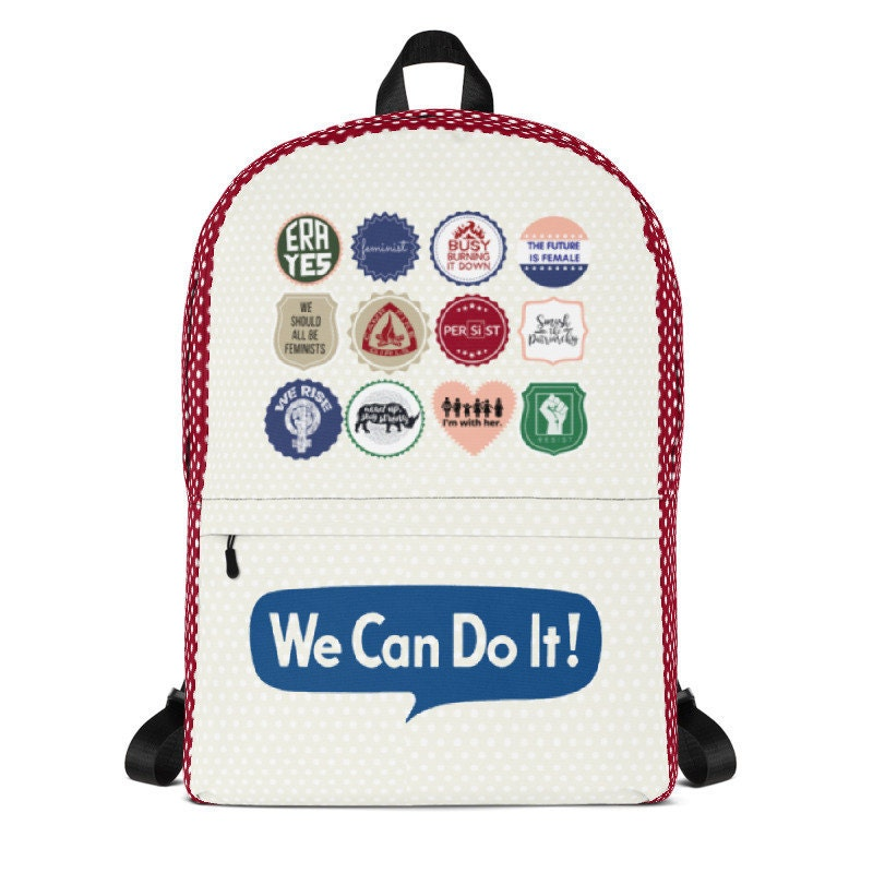 We Can Do It Backpack, Rosie the Riveter