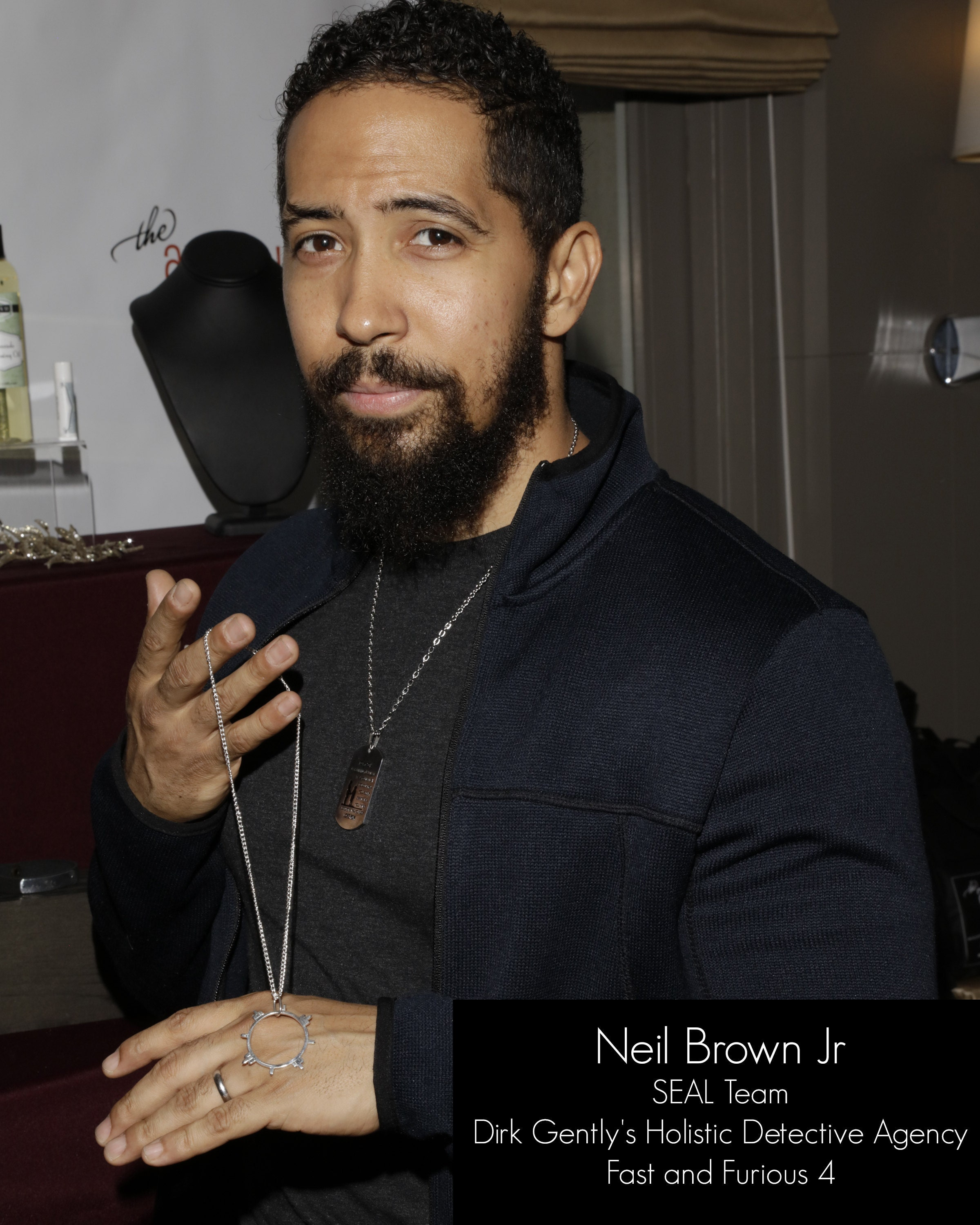 Neil Brown Jr and Inchoo Bijoux