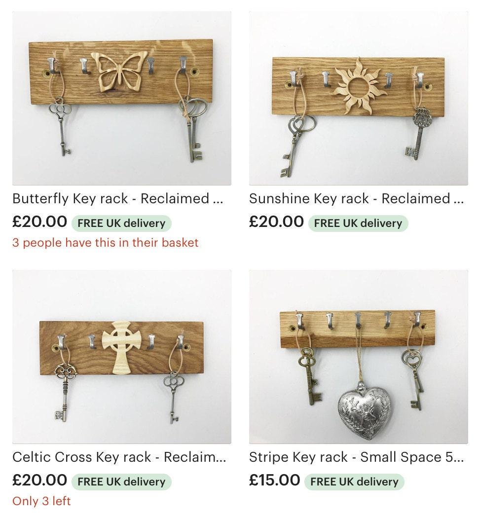 Selection of Gorlech key racks