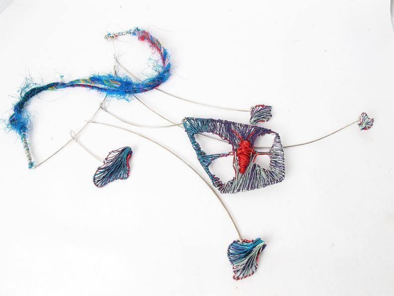 butterflynecklace, butterflywingsnecklace, artnecklace