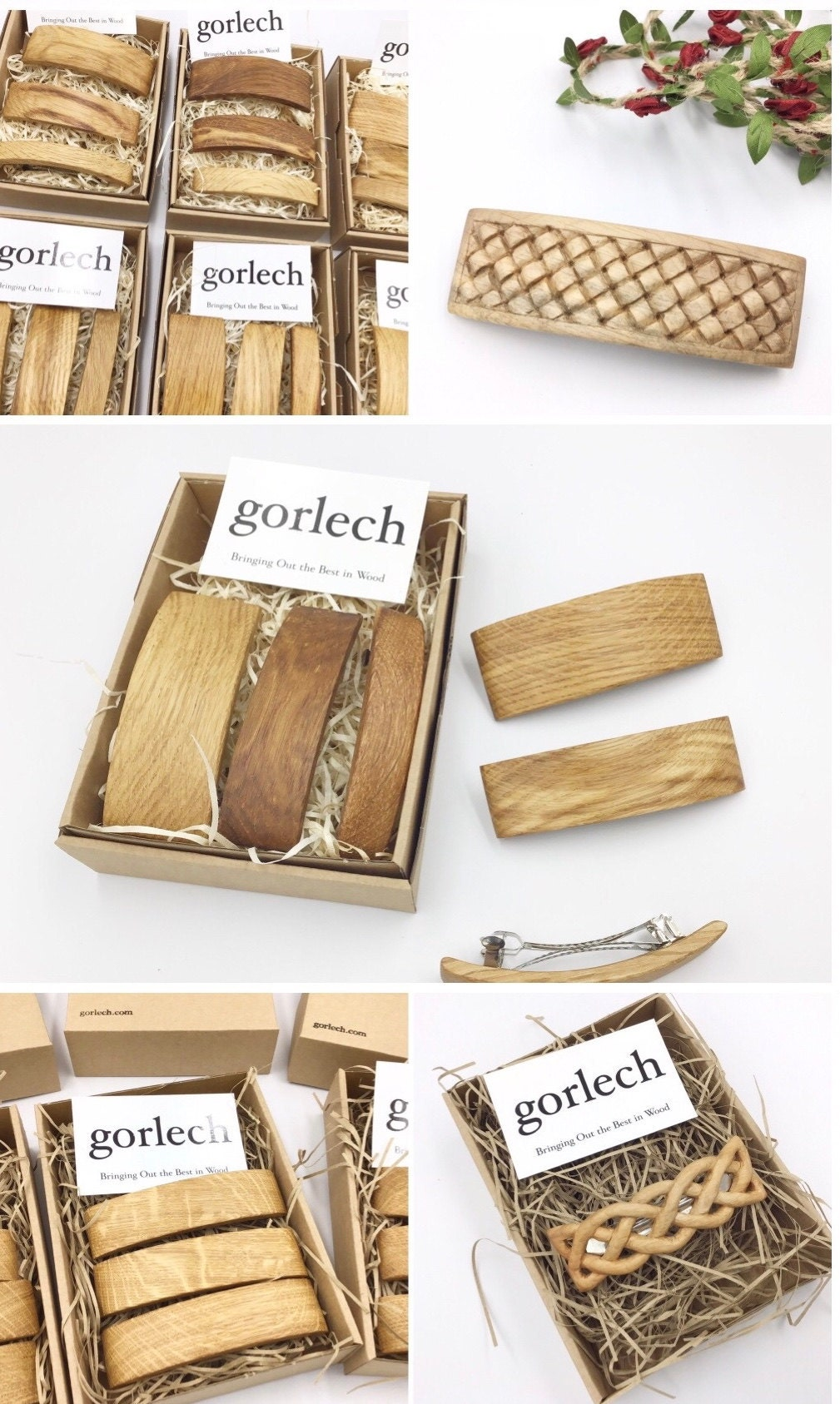gorlech - Hair barrettes - our range of hair accessories